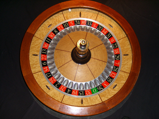 How many numbers are there in an american roulette wheel