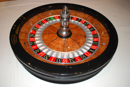 Roulette wheel size is recreational gambling a sin